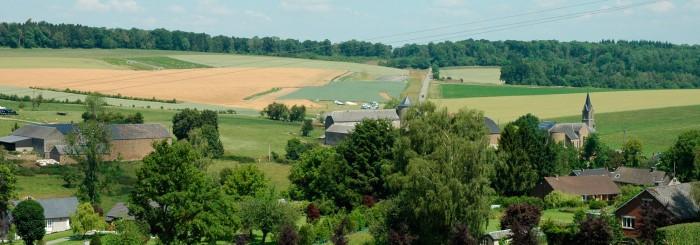 Le village d'Ossogne