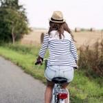 Vélo sur le Ravel