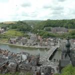 Dinant, vue sur la ville et la Meuse